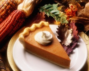 Pumpkin Pie - An Occasional Treat during Weight Management