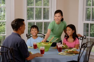 Family mealtimes - Coping with eating disorders at home