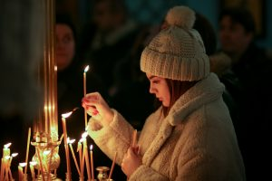 Lighting candles - loss and grief